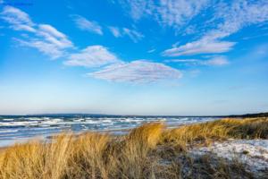 Ostsee und Dünen